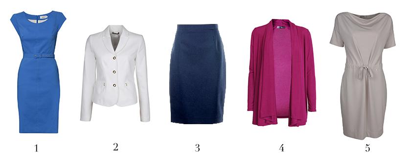 moda dla 50 latki sukienka żakiet spódnica sweter