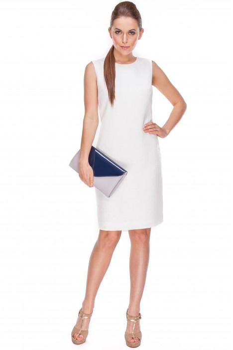 sukienka Bialcon w kolorze ecru