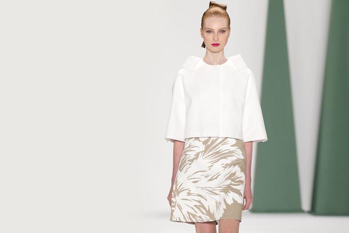 Geometria w modzie - trapezowe spódnice