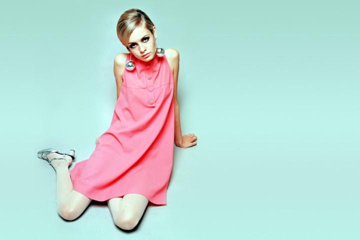 Sukienka w stylu Twiggy