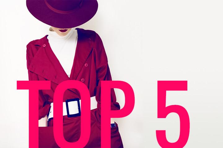 TOP 5 okryć wierzchnich