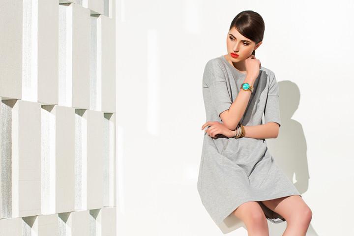 Bawełna i sukienka