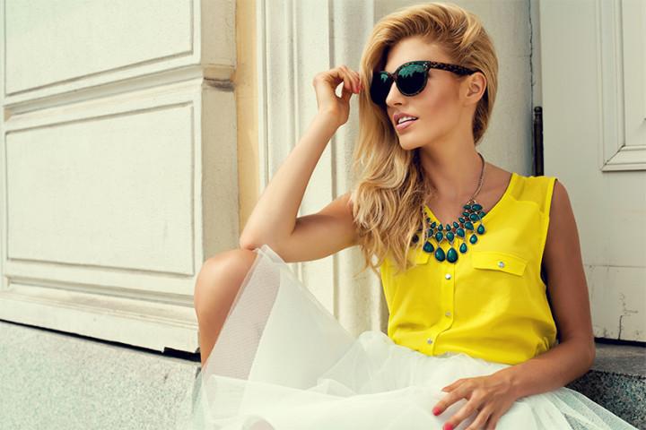 Modne bluzki na lato 2015