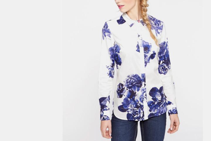 Koszule w kwiaty
