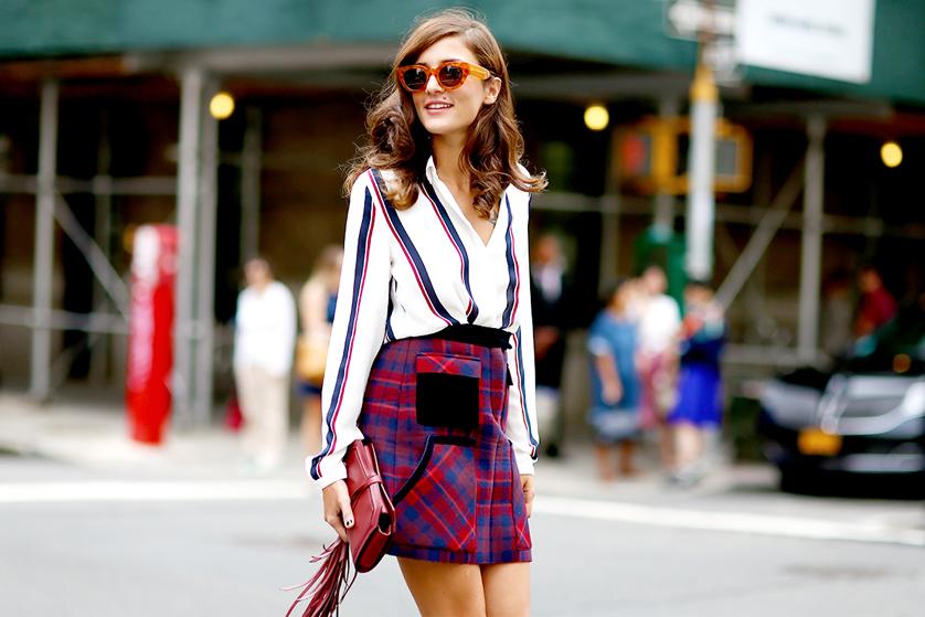Spódnice w kratę Blog o modzie, urodzie i stylu