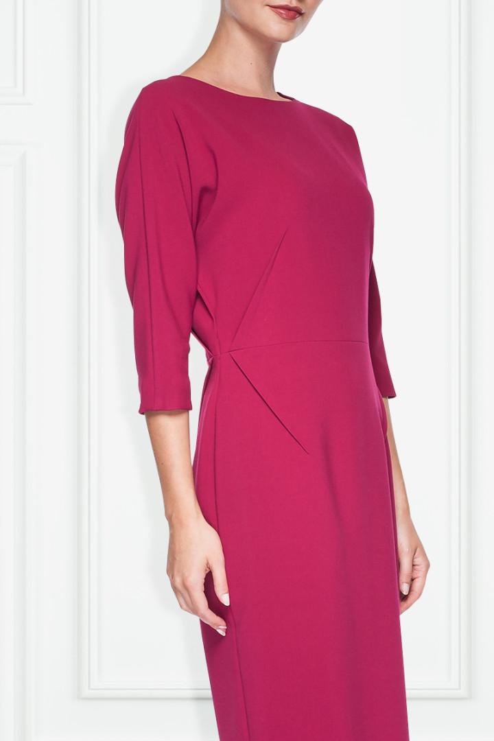 Elegancka różowa sukienka – SU