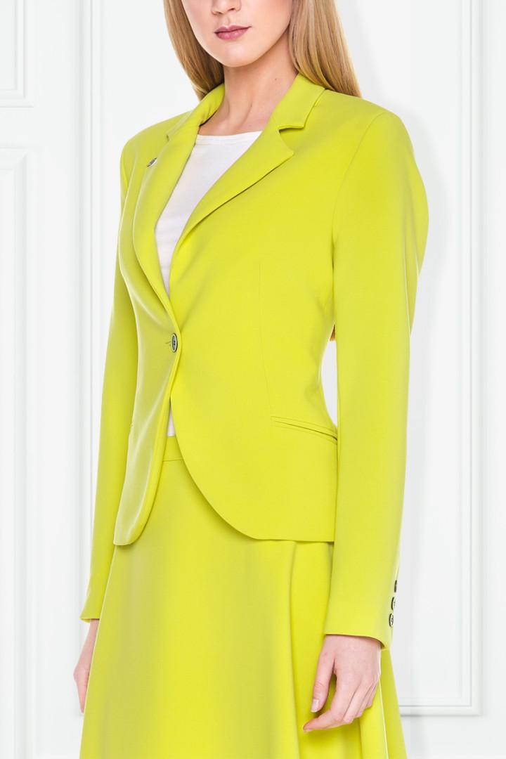 Żakiet w kolorze limonki – Click