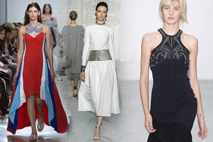 ac745e0b3f Najpiękniejsze sukienki Tygodnia Mody w Londynie - Blog o modzie ...