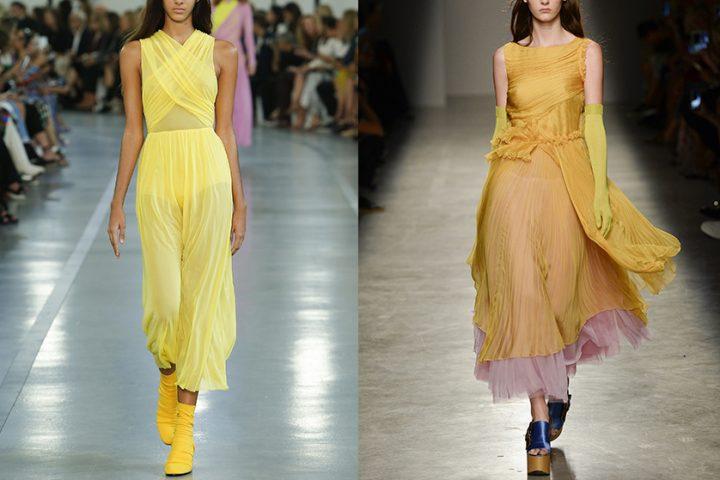 Dlaczego warto nosić żółte sukienki?