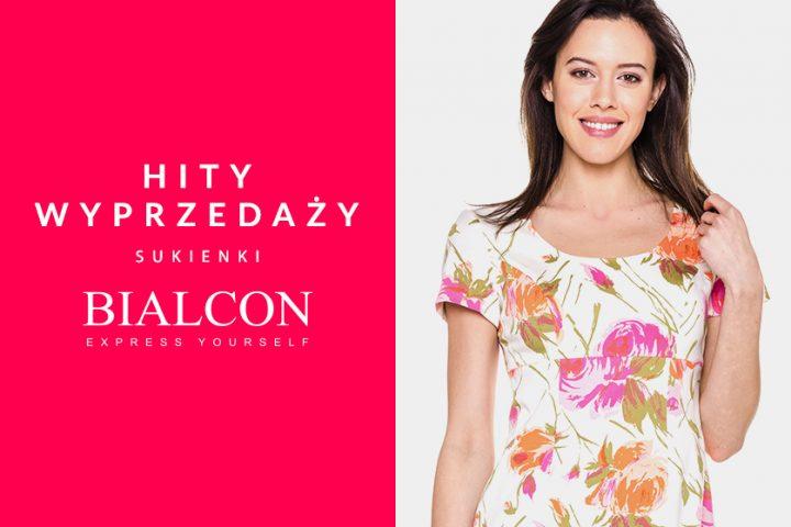 Hity wyprzedaży – sukienki Bialcon