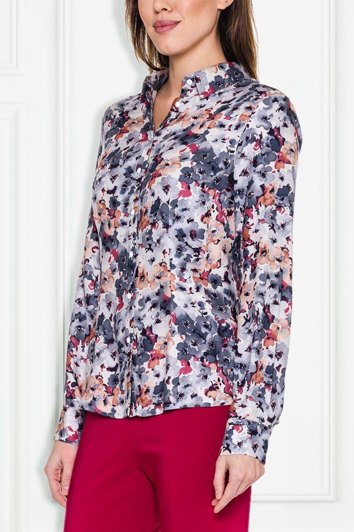 Koszula w kwiaty - Duet Woman
