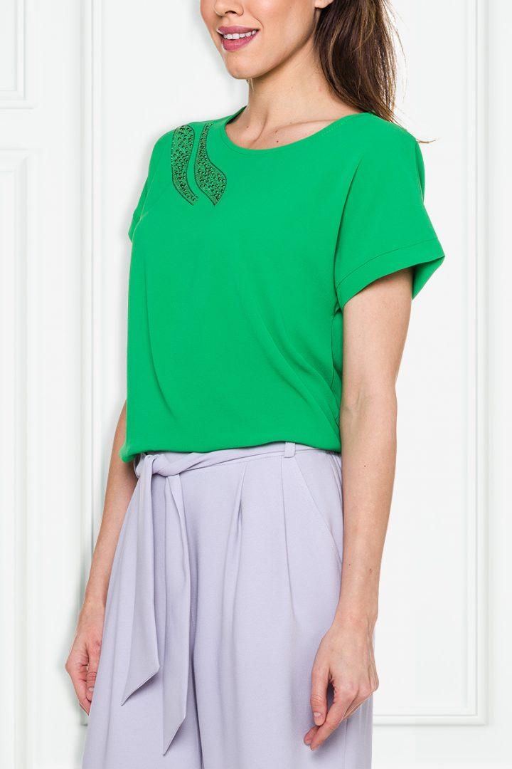 Zielona bluzka - Studio Mody PDB