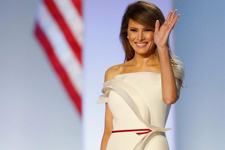 W stylu Melanii Trump – pierwszej damy USA