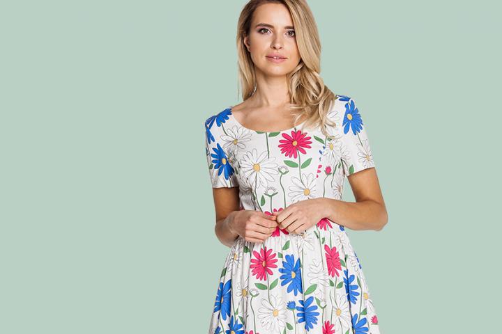 Przygotuj się do wiosny! Wybierz sukienki Bialcon, Rabarbar