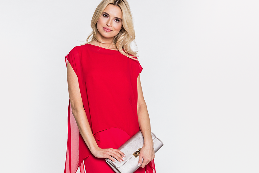 b271f79b2f Czerwone sukienki – świetne na dzień