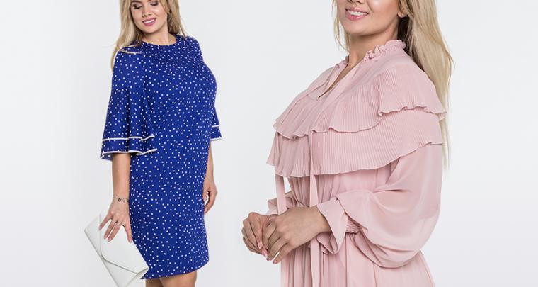 Znajdź swój fason plus size! Sukienki dla puszystych o figurze klepsydry, jabłka i gruszki