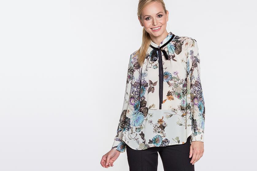 af4b0e790e Bluzki i koszule damskie Duet Woman z kolekcji J Z 2018-19 - Blog o ...