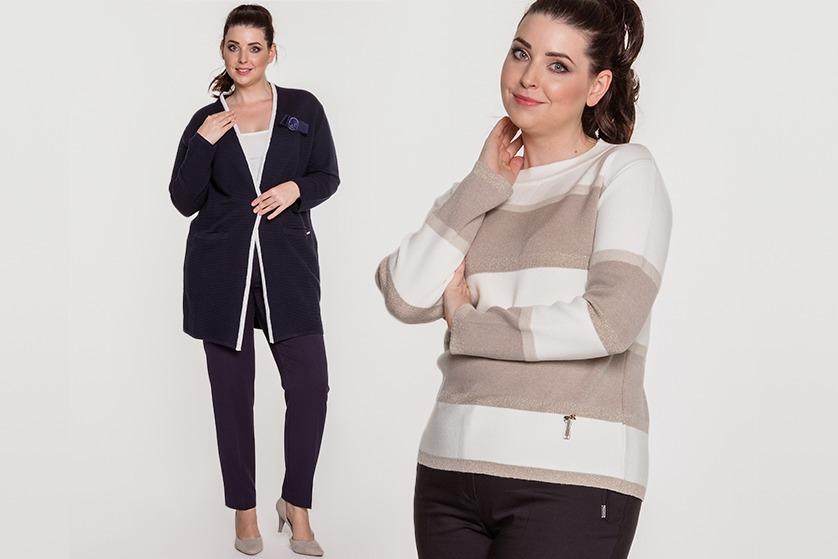 Moda plus size wcale nie musi być monotonna i kojarzyć się tylko z  szerokimi ubraniami. W sezonie jesienno-zimowym można spotkać wiele  ciekawych fasonów i ... fa5841d4bb