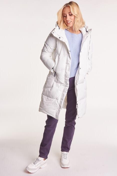 Zimowe kurtki puchowe