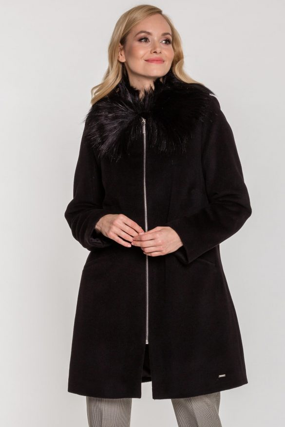 Płaszcz wełniany – idealny na mroźne dni