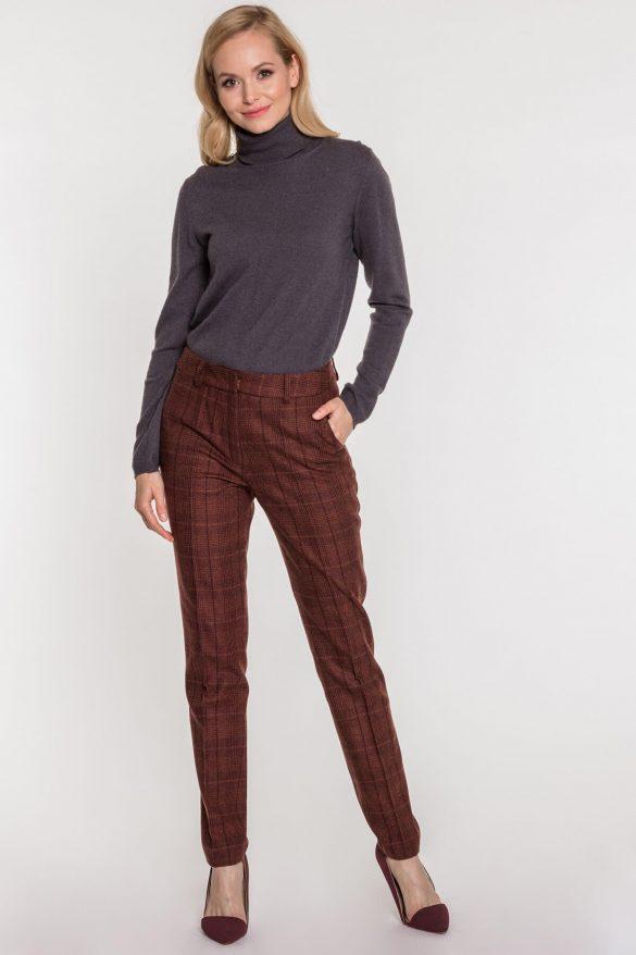 Jesienny hit – spodnie w kratkę