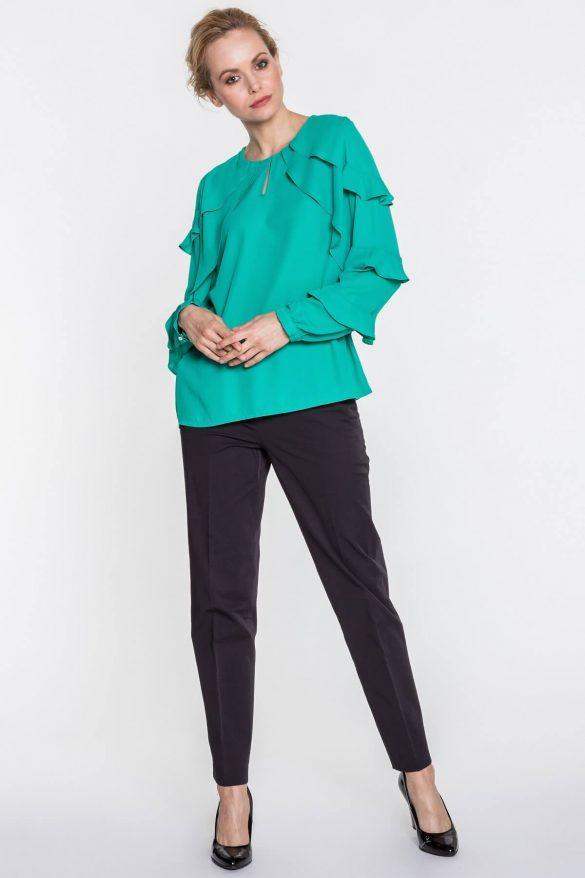 Ubrania dla kobiet o szerokich ramionach