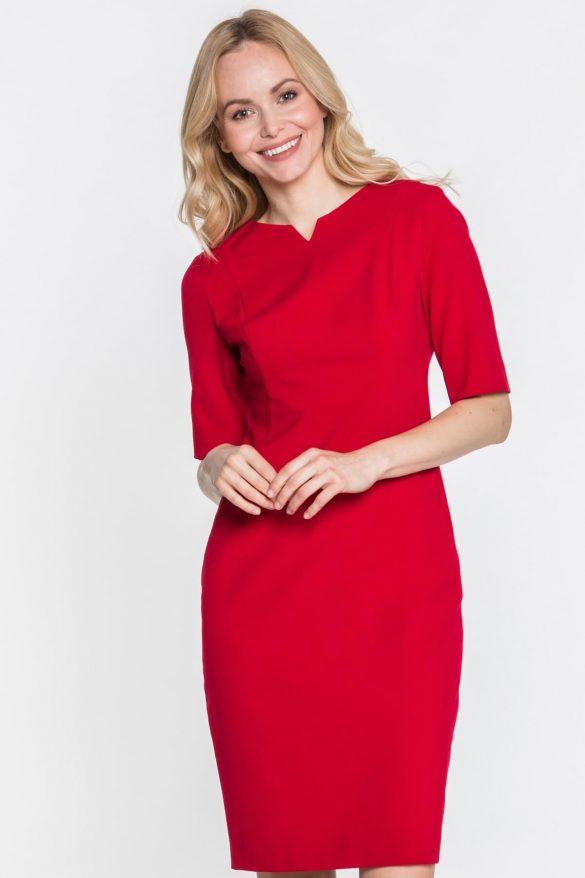Czerwone sukienki – 100% kobiecości na co dzień
