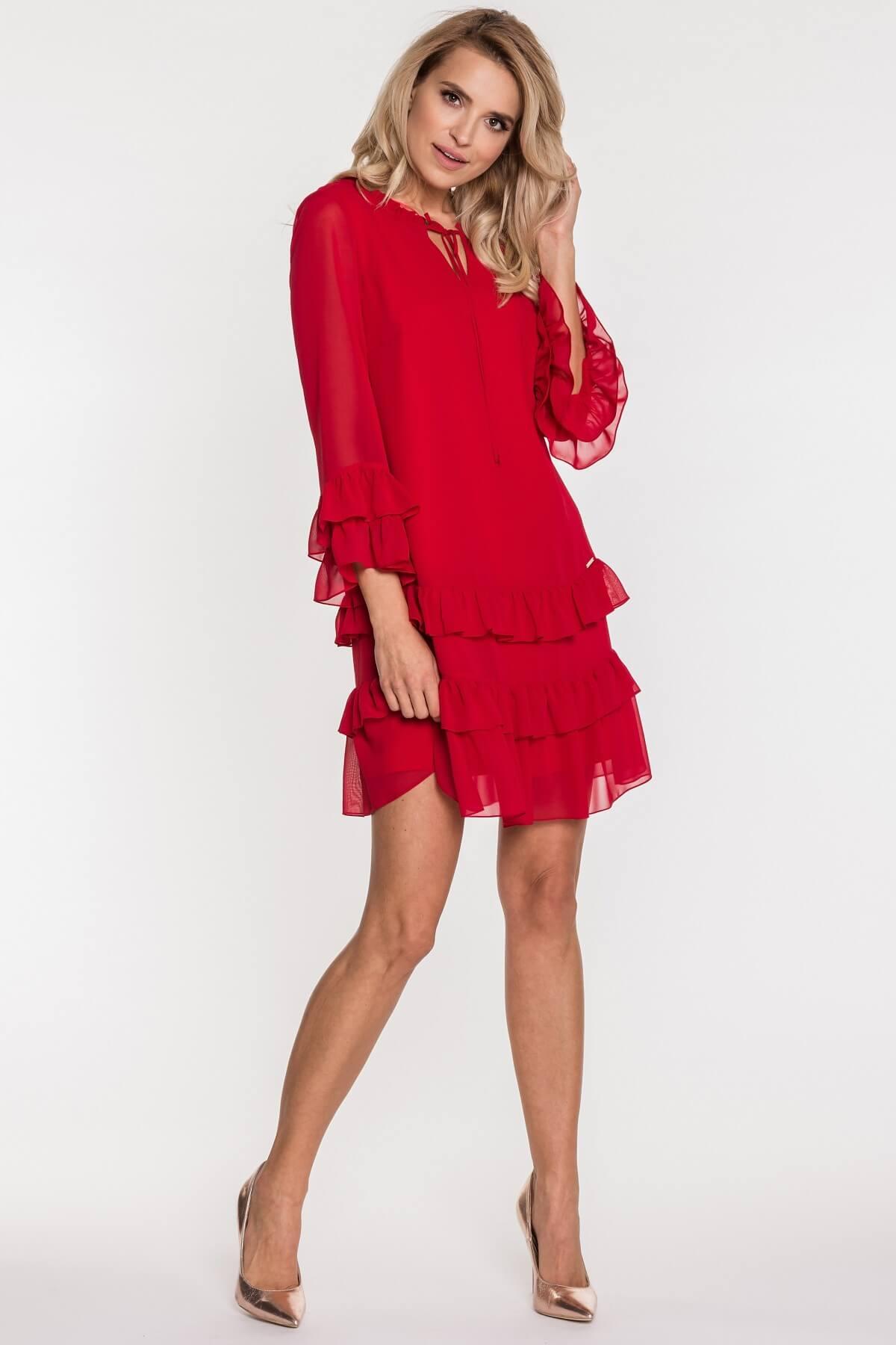 9f6dce21e0 Czerwone sukienki – 100% kobiecości na co dzień - Blog o modzie ...