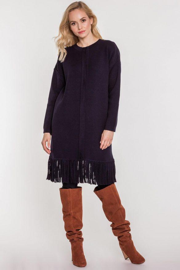 Długi kardigan do sukienki i nie tylko – stwórz stylowy zestaw