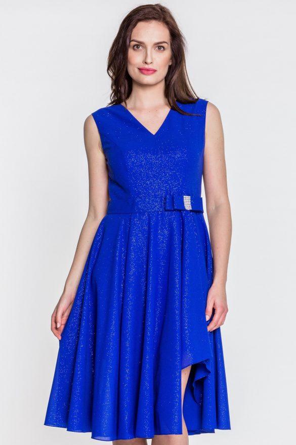 Kobaltowa sukienka na wesele – najpiękniejsze modele