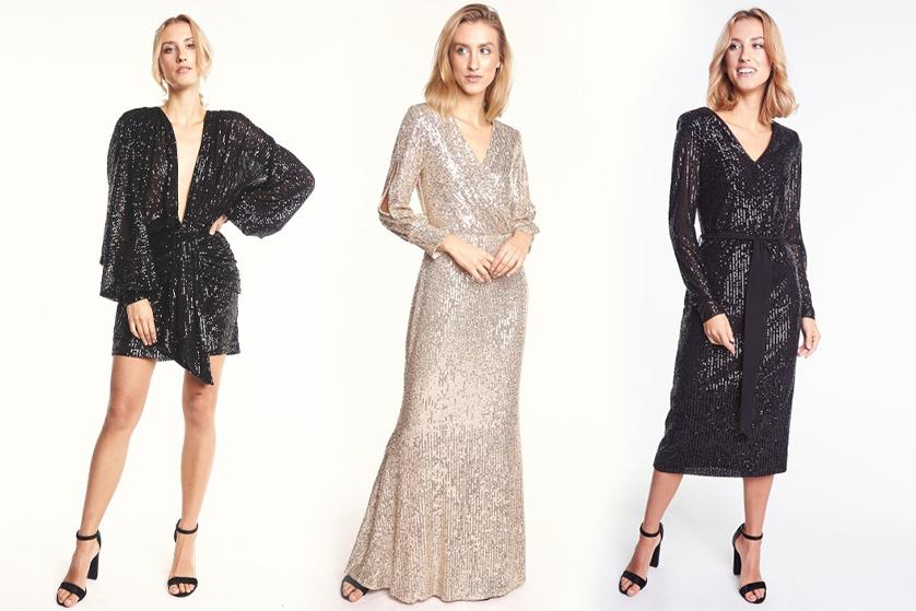 Blyszczaca Sukienka Z Cekinami Na Sylwestra Blog O Modzie Urodzie I Stylu