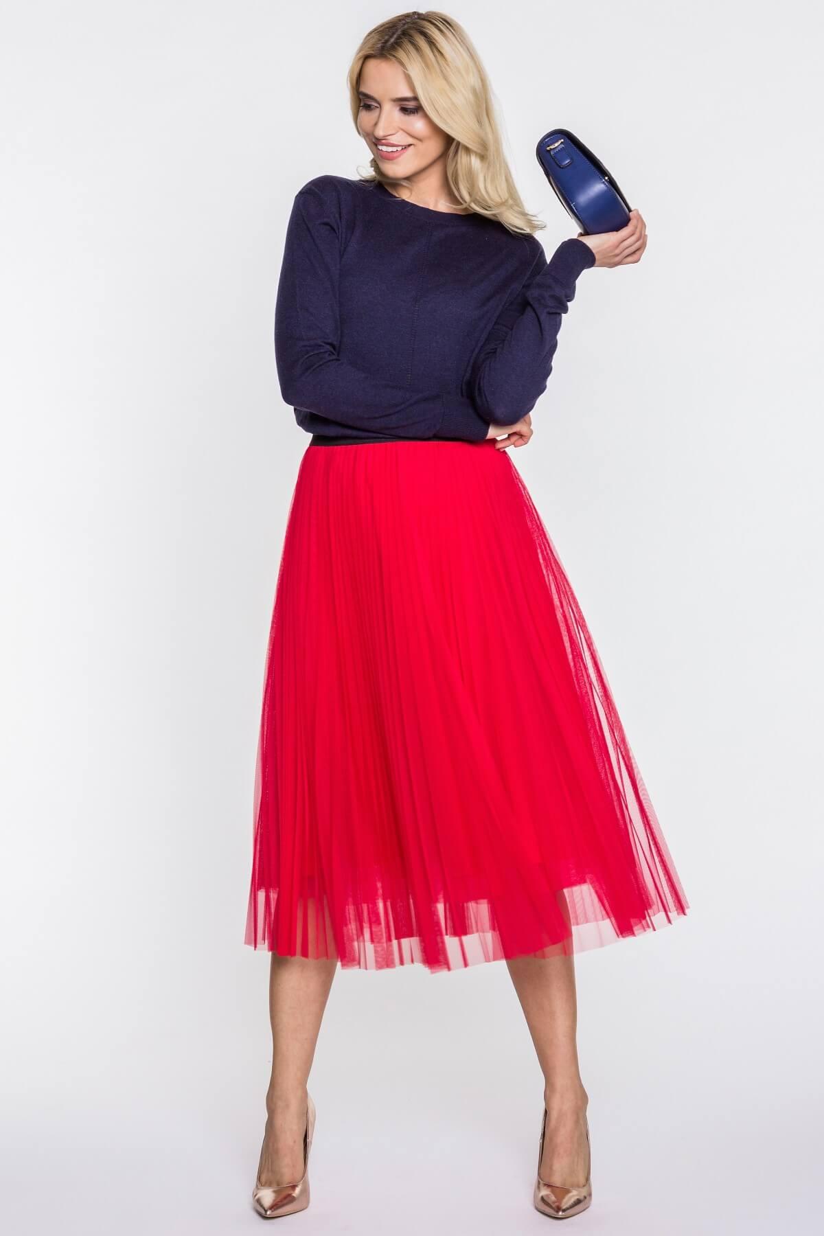 591c5cd7 Plisowana spódnica z szyfonu na wesele - Blog o modzie, urodzie i stylu