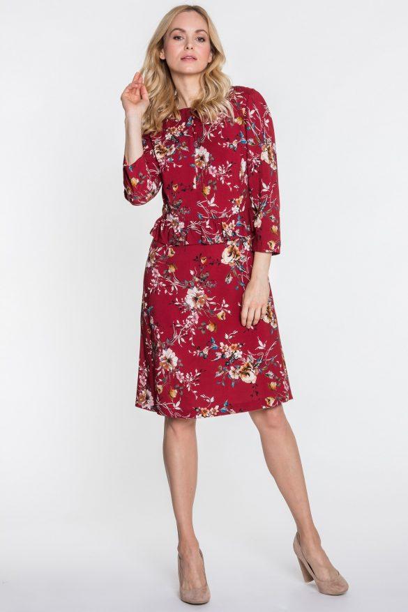 Sukienka z baskinką – wyjątkowy model na szczególne okazje