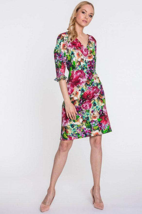 Sukienka z dekoltem w serek – najciekawsze modele