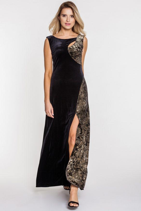 Długie sukienki z rozcięciem – modele na specjalne okazje
