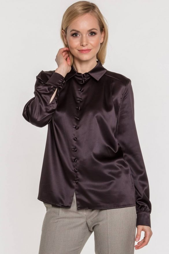 Jedwabna koszula – elegancka i kobieca