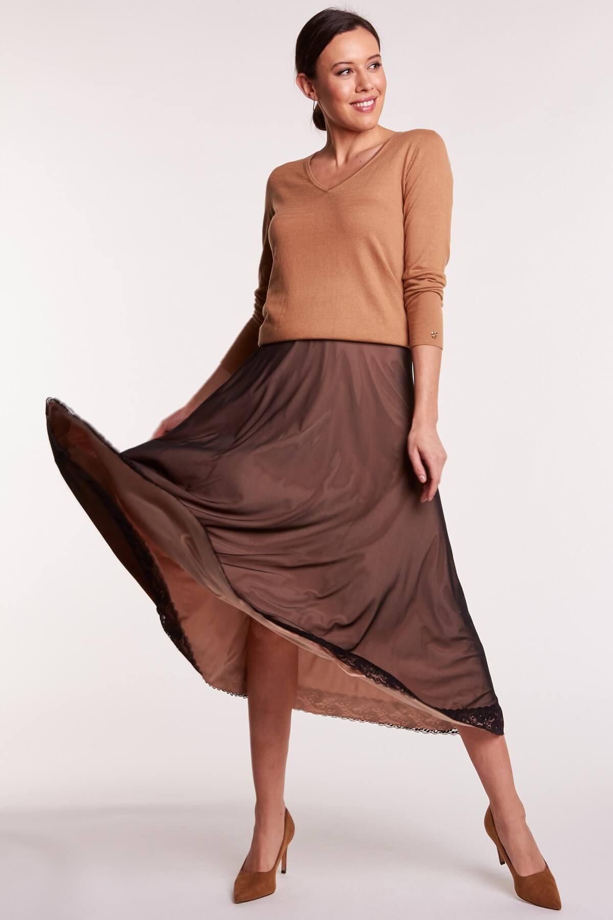 Blog How to wear it? jedwabna spódnica