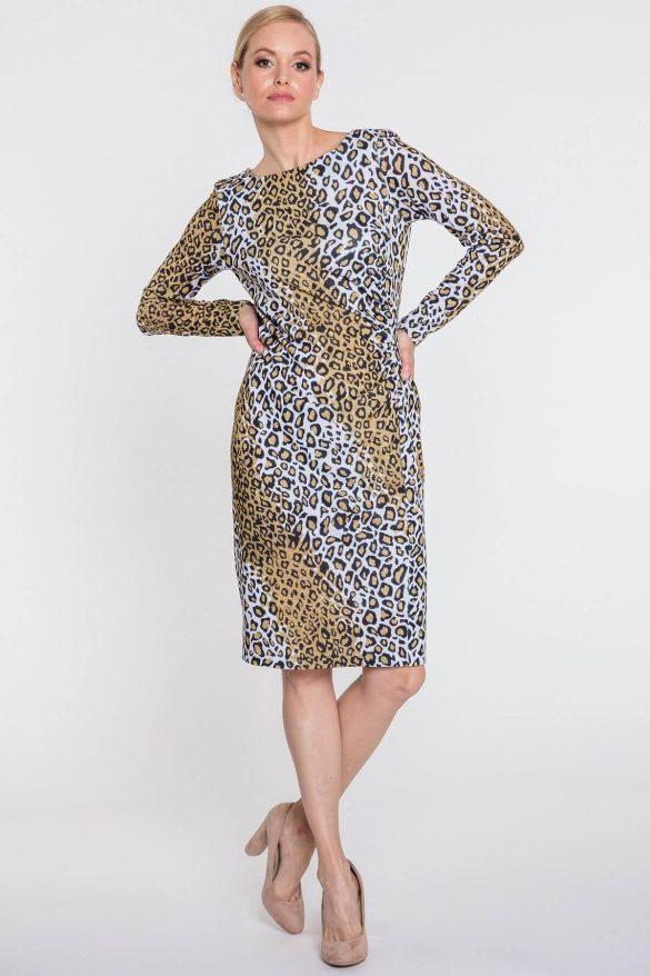 Sukienki w zwierzęce desenie – idealne na jesień
