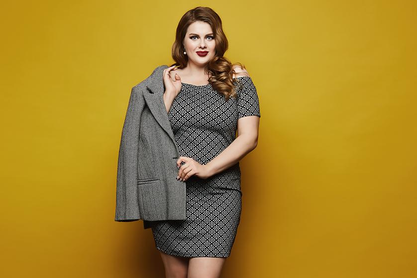 a87eeaeb58 Sukienki do pracy w dużych rozmiarach – najciekawsze propozycje ...