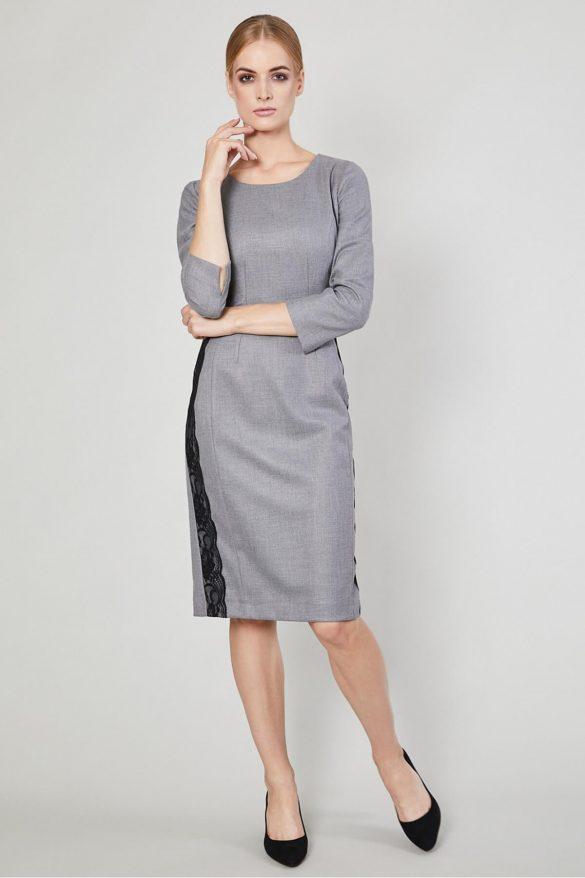 Szara sukienka – klasyk, który nigdy się nie znudzi