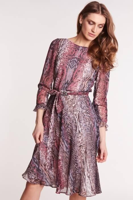 Wiosenne sukienki we wzory