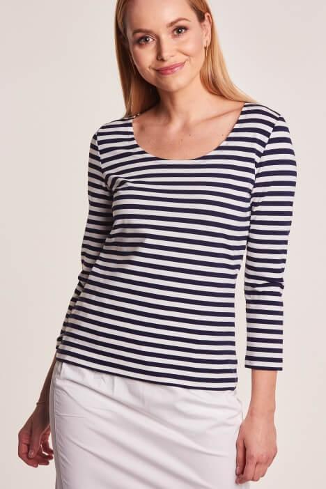 Lato w marynarskim stylu – ubrania w paski