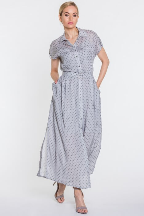 Modne ubrania w groszki