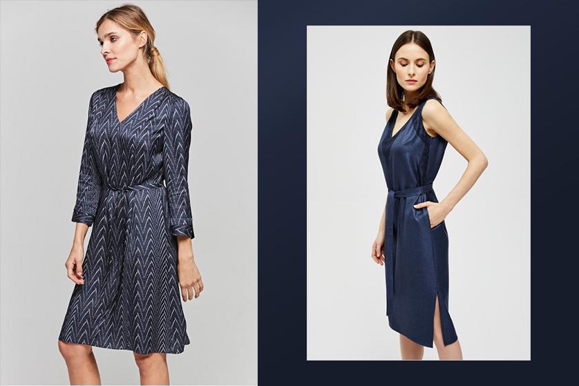 Jakie Dodatki Do Granatowej Sukienki Blog O Modzie Urodzie I Stylu