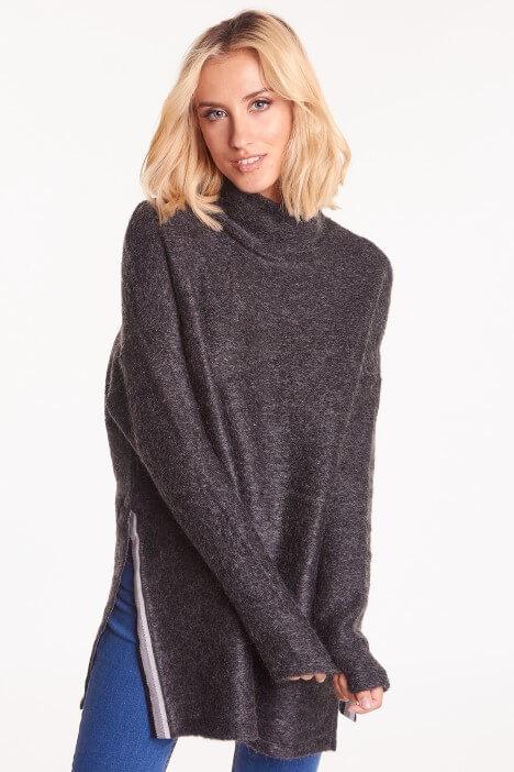 Jesienne swetry oversize